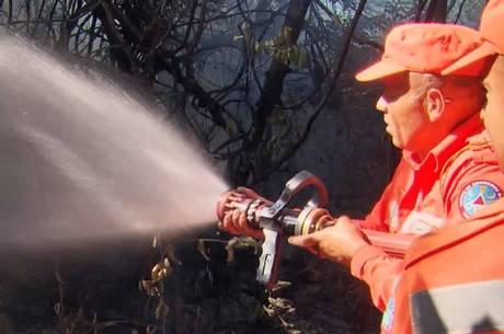 Combate a incêndios custou milhões de reais ao Estado