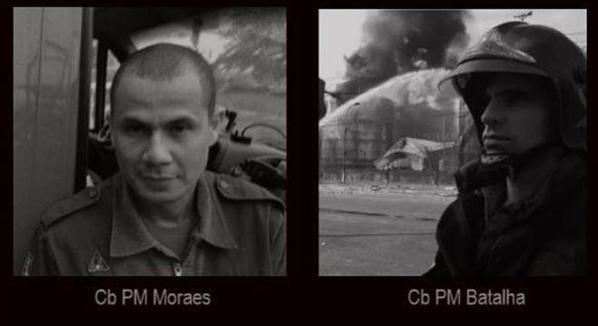 Dois bombeiros morreram soterrados no Guarujá tentando resgatar vítimas