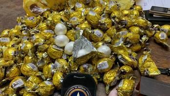 __Bombom e macarrão: veja lugares onde drogas já foram encontradas__ (Divulgação Polícia Federal)