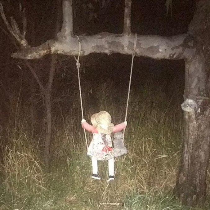 Ninguém sabe a origem da boneca, mas contam histórias sobre ela