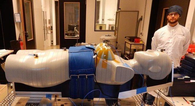 Boneca Helga participará de missão não tripulada para medir efeito da radiação sobre corpos
