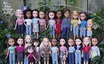 A associação Tree Change Dolls ensina as pessoas fazer essas mudanças em suas bonecas.