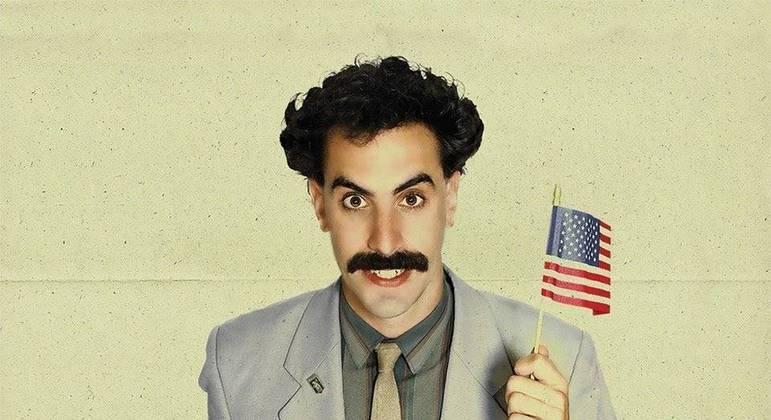 Entre os nominados estão Relatos do Mundo' e 'Borat' (foto)
