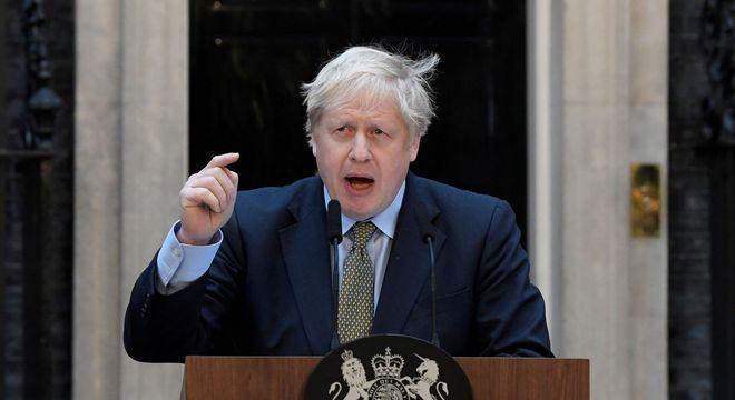 Johnson afirma que lei de segurança é violação 'clara e grave' de tratado
