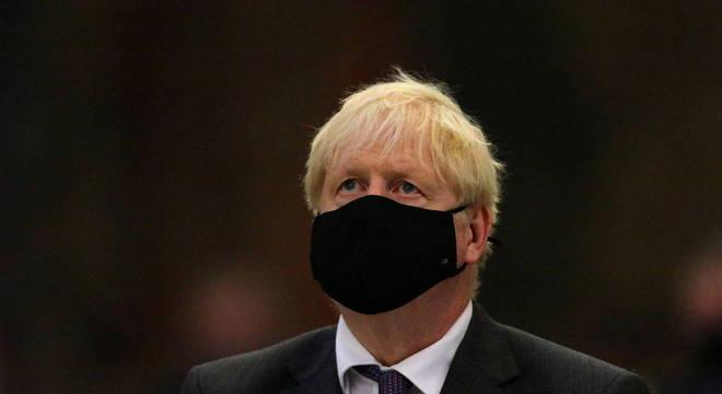 O primeiro-ministro britânico, Boris Johnson, reativou algumas restrições