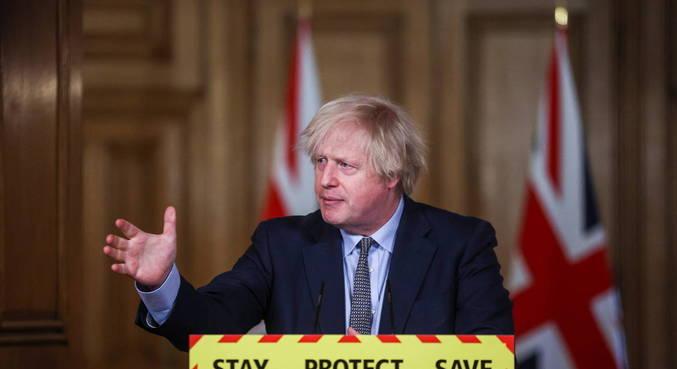 Boris Johnson defende fim de medidas de restrição