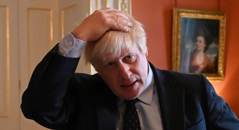 O primeiro ministro britânico Boris Johnson
