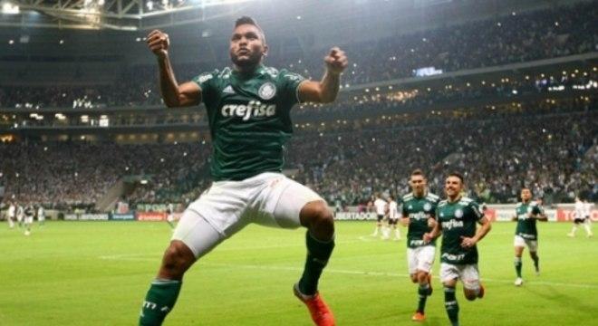 Borja em campo pelo Palmeiras