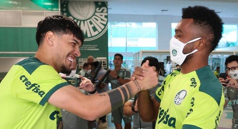 Borja não esperava uma recepção tão calorosa. Gostou. E quer ficar no Palmeiras