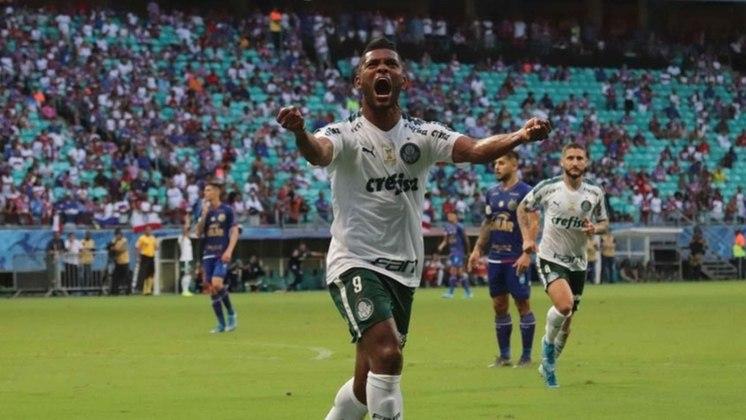 Borja: foi contratado pelo alviverde depois de ter sido destaque no Atlético Nacional na conquista da Libertadores de 2016, mas, vivendo relação de amor e ódio com a torcida, acabou emprestado no início de 2020 ao Junior Barranquilla. Foram 112 partidas e 36 gols marcados.