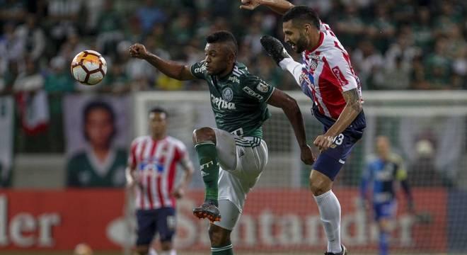 Borja no ataque é a aposta de Felipão na sua nova era no Palmeiras