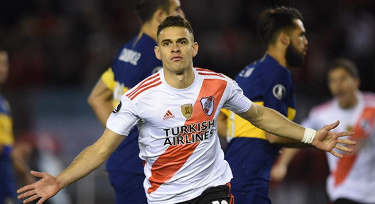 Palmeiras, São Paulo e até a Lazio desistiram de Borré. Proposta gremista alta demais