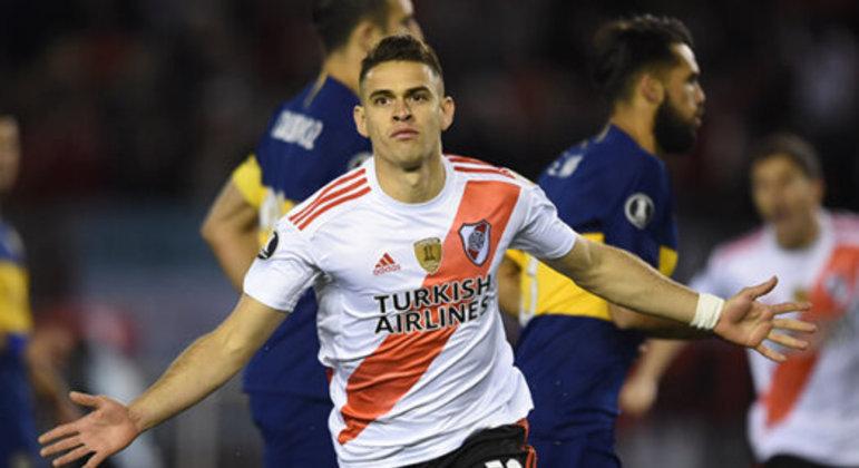 O São Paulo foi o primeiro clube a tentar contratar Borré. Mas ele queria a Europa