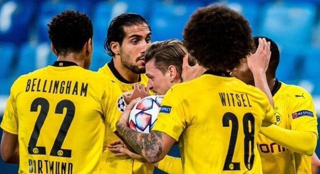 Borussia Dortmund, o líder do Grupo F