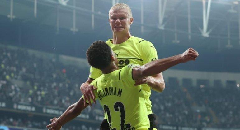 Haaland e Bellingham, do Borussia Dortmund