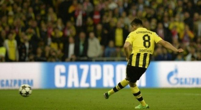 Borussia Dortmund x Bayern de Munique - Final da Champions League 2013 - Gol de pênalti de Gündogan