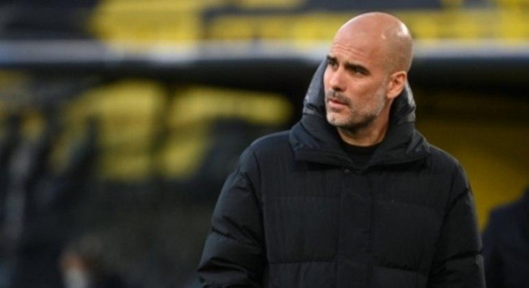 Borussia Dortmund x Manchester City - Pep Guardiola