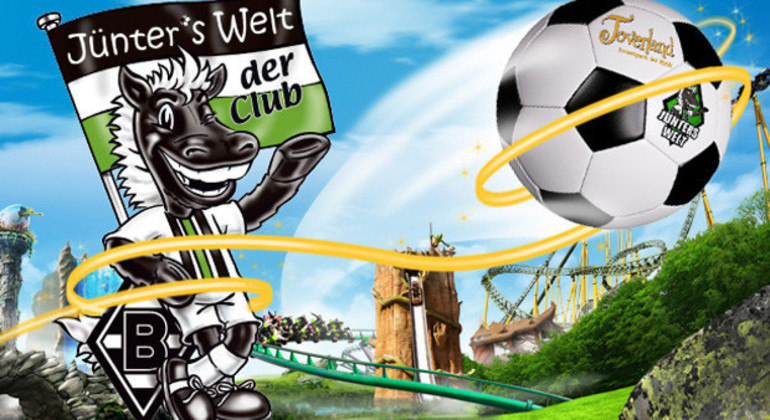 """Die Junter"", o ""Potro"" do Borussia Moenchengladbach"