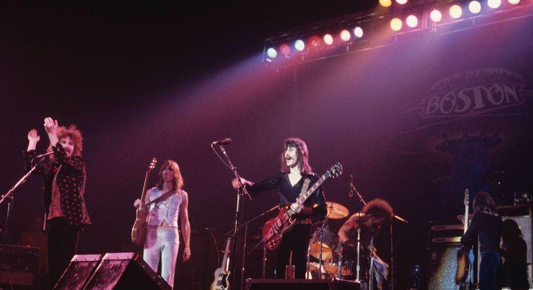 Boston ao vivo nos anos 70