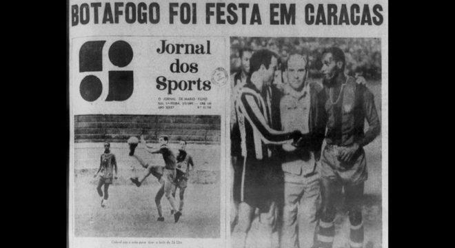 Nem a eufórica imprensa carioca da época falou em Mundial