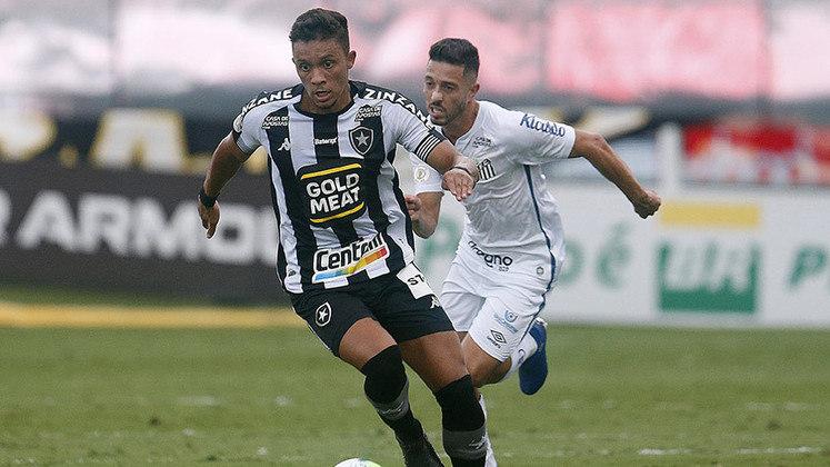 Botafogo: 2 vitórias e 3 empates em cinco jogos válidos pelo Campeonato Carioca e Copa do Brasil
