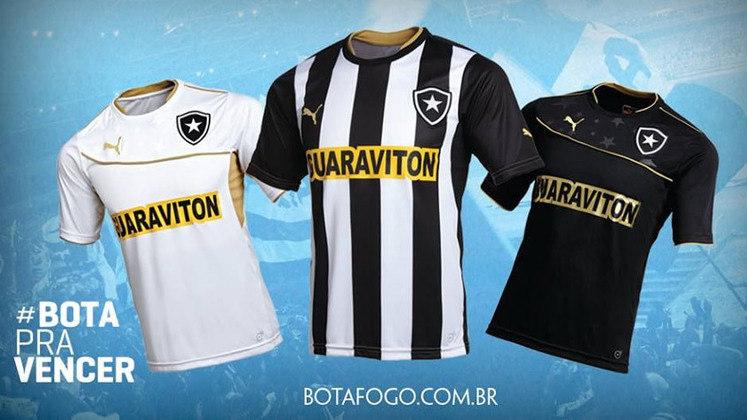 Botafogo 2013 - Produzida pela Puma