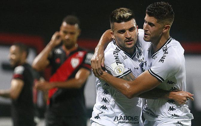 Botafogo, 4 SGs cedidos, 10 gols marcados - Chama a atenção de que a maioria dos jogos em branco do Alvinegro foi em casa. Apenas contra o Fortaleza o time de Autuori jogou como visitante. Por outro lado, o Glorioso marcou gols em times como Flamengo e Atlético-MG. É uma equipe imprevisível!