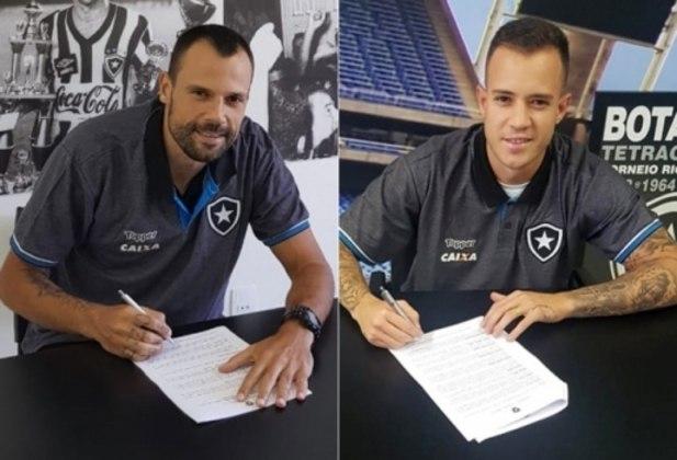 Botafogo acerta contratações de Diego Cavalieri e Gustavo Ferrareis