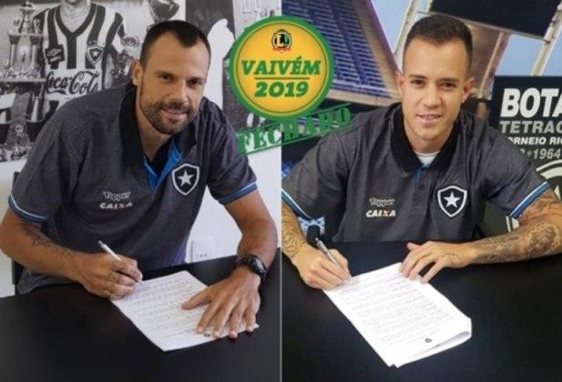 Botafogo acerta contratações de Diego Cavalieri e Gustavo Ferrareis VAIVÉM FECHADO