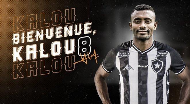 Botafogo deu camisa 8 a Kalou e lançou linha de produtos do jogador