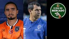 Mercado: Botafogo se aproxima de Rafael e Santos vai atrás de Carille