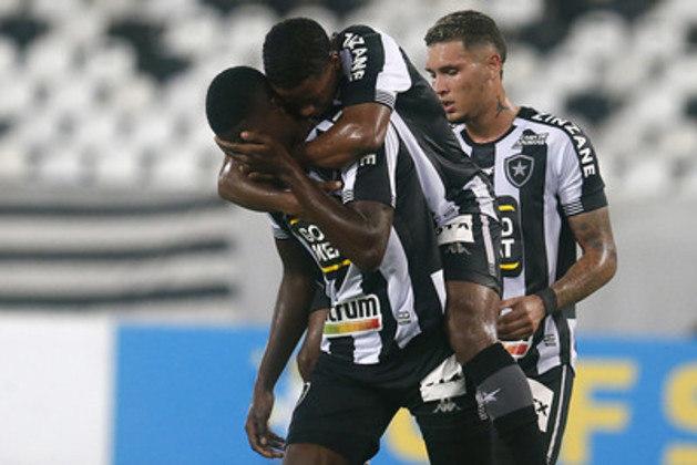 Botafogo: folha salarial: R$ 2,5 milhões - Pontos: 27 - Custo por ponto: R$ 92.592,59.
