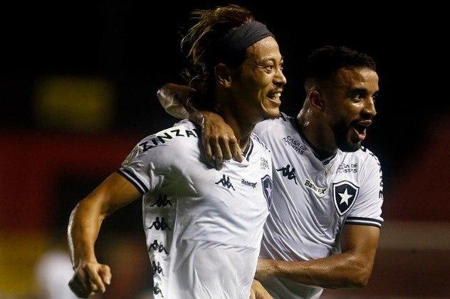 Botafogo – o Glorioso aparece empatado, também com 25.