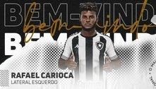 Botafogo anuncia Rafael Carioca como novo reforço para temporada