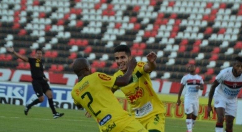 Botafogo-SP x Mirassol - Campeonato Brasileiro Série C