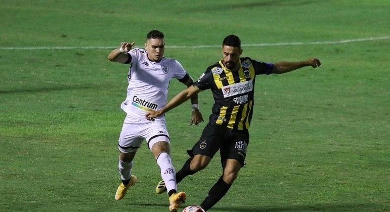 Partida entre Volta Redonda e Botafogo foi bastante disputada