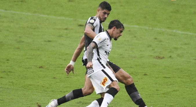 Corinthians e Botafogo jogaram pela 27ª do Brasileiro