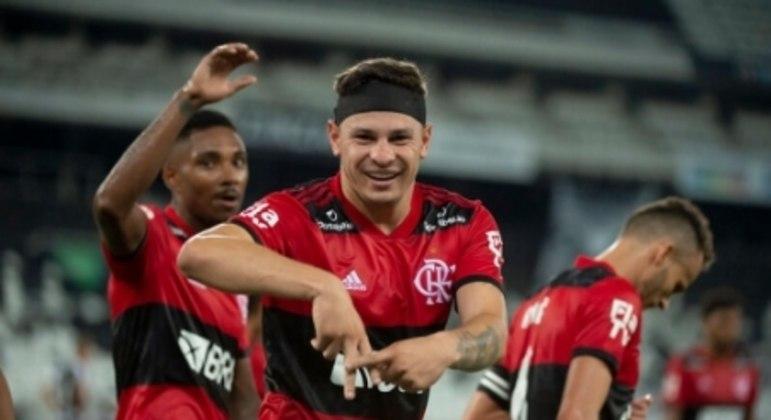 Botafogo x Flamengo - Hugo Moura