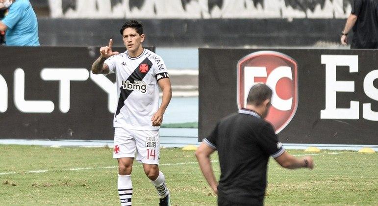 Germán Cano fez o gol da vitória do Vasco por 1 a 0