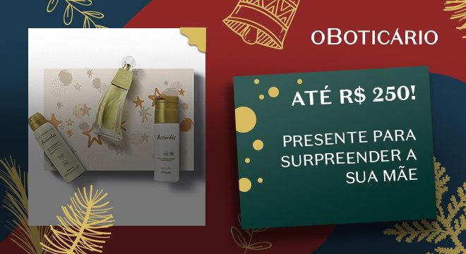 Kit Presente Natal Accordes: Desodorante Colônia 80ml + Creme Desodorante Hidratante 200ml + Antitranspirante 75g