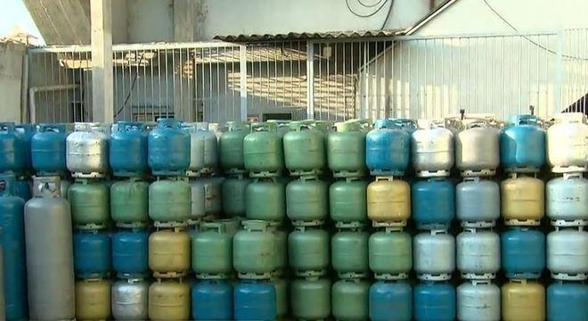 Botijões de gás serão distribuídos na zona leste