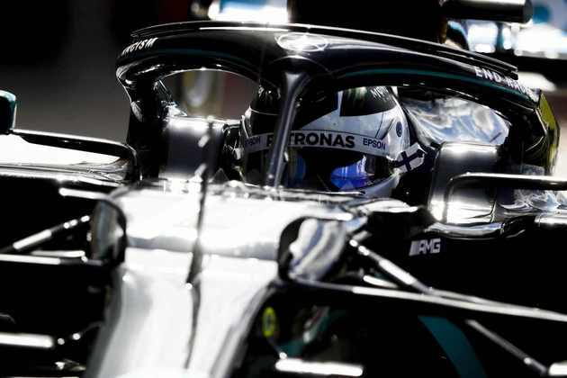 Bottas ficou 0s313 atrás do pole position