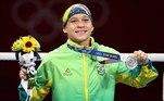 Bia Ferreira foi medalha de prata no boxe