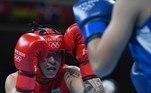 Beatriz Ferreira venceu a luta e passou para a semifinal do boxe na categoria até 60 kg