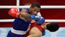 Na estreia do Brasil no boxe, Wanderson Oliveira vence sírio