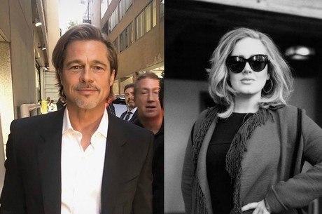 Pitt e Adele estariam se conhecendo melhor, diz site