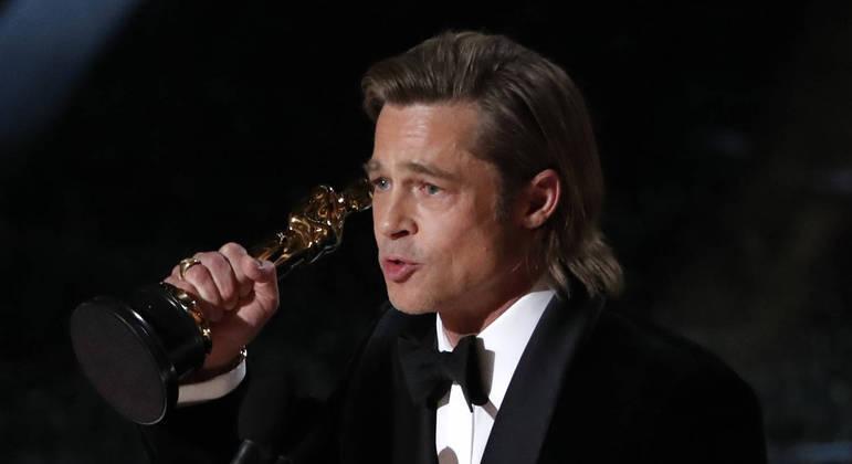 Na última edição, Pitt ganhou o primeiro Oscar na categoria 'Melhor Ator Coadjuvante'