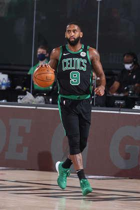 Brad Wanamaker (Boston Celtics) 4,5 - Vindo do banco, o armador ficou em quadra por dez minutos, produzindo quatro pontos e três rebotes