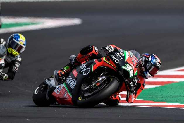 Bradley Smith larga em 19º