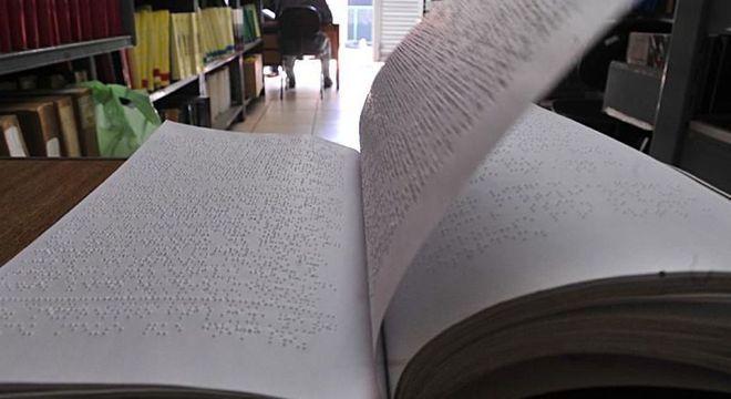 Apenas 5% das obras literárias são transcritas para braille em países desenvolvidos